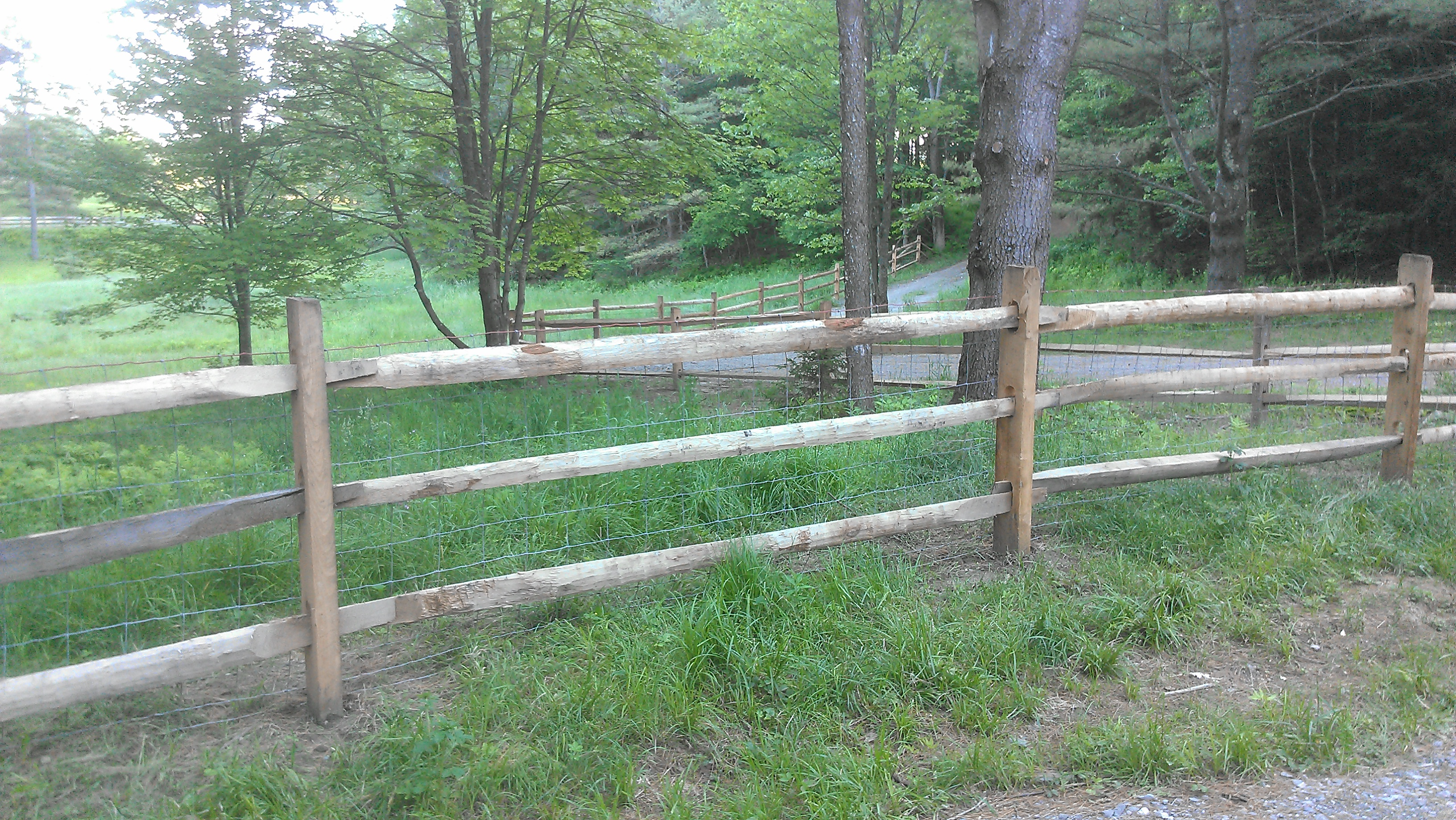Generous 3 Wire Cable Fence Pictures Inspiration - Electrical ...